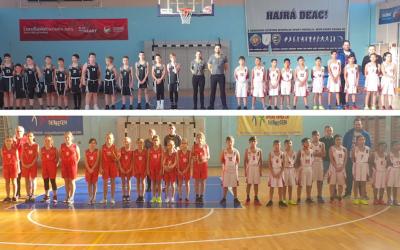 Szombaton az U12-es kosárlabda csapatunk Debrecenbe járt
