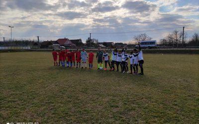 Megkezdődött U14 labdarugó csapatunk tavaszi bajnoksága